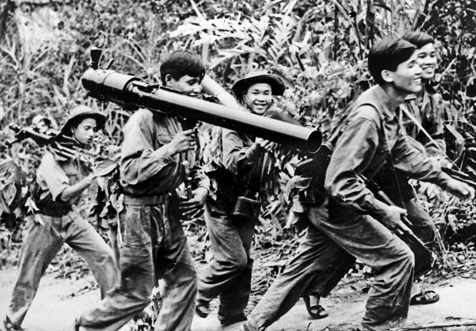 לוחמי וייטקונג בדרום וייטנאם