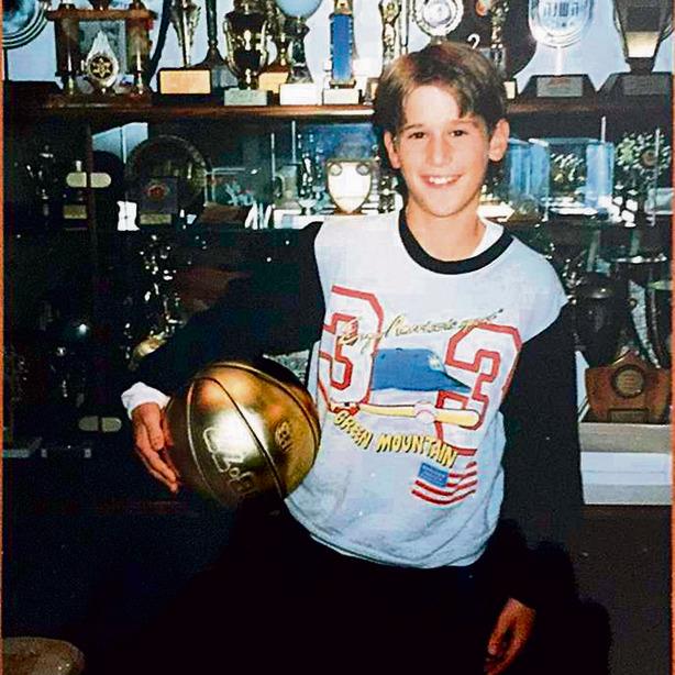 ניב ברקוביץ', הבן של מיקי, היום שחקן כדורסל