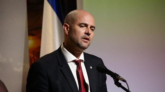 אמיר אוחנה (צילום: יהונתן ולצר, TPS)