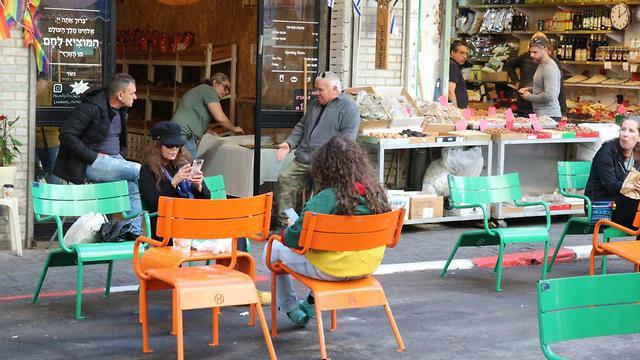 רחוב לוינסקי בדרום תל אביב הפך למדרחוב (צילום: איתי בלומנטל)