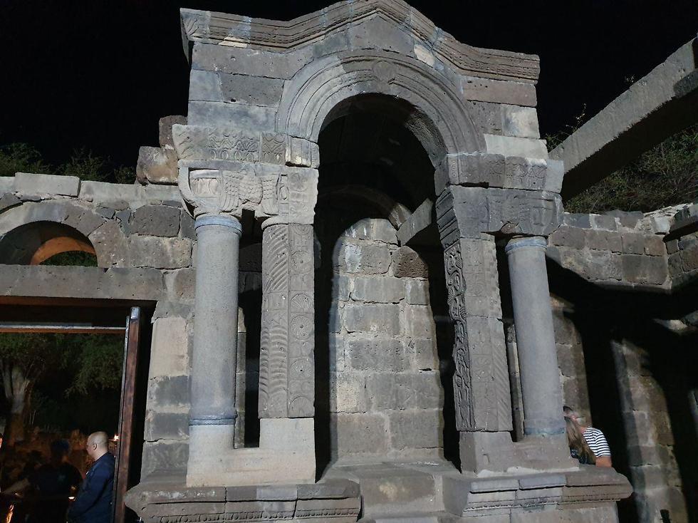 בית הכנסת בעין קשתות (צילום: סער הס)