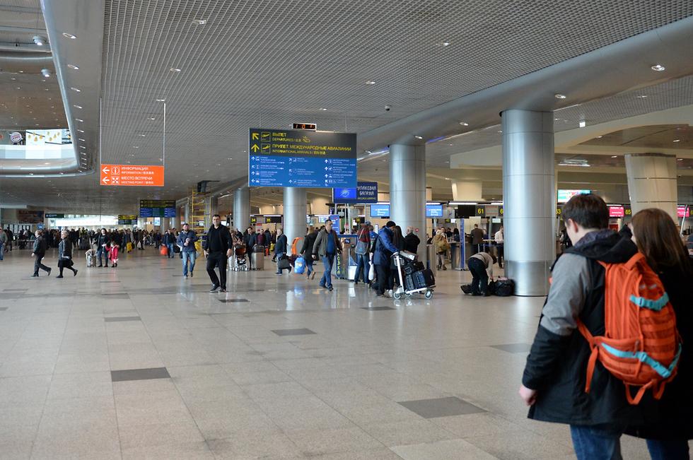 שדה התעופה דומודדובו מוסקבה (צילום: shutterstock)