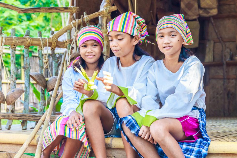 לא רק איים – גם תרבות צבעונית בפיליפינים.  (צילום: shutterstock)
