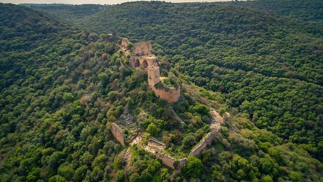 מבצר המונפור שבגליל המערבי (צילום: shutterstock)