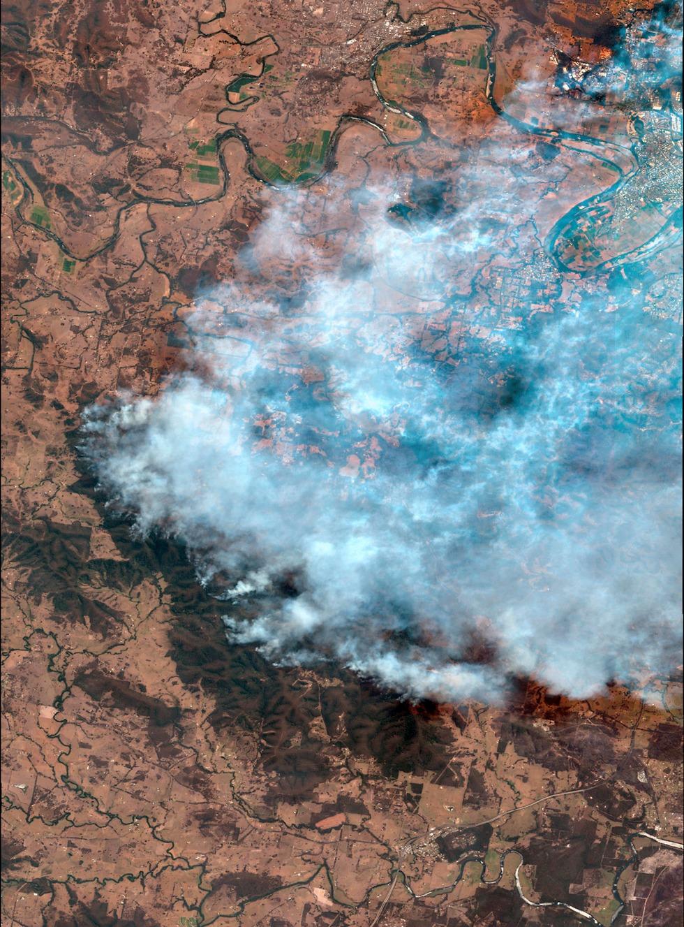 אוסטרליה שריפה שריפות ניו סאות' וויילס אזור סידני (צילום: AP)