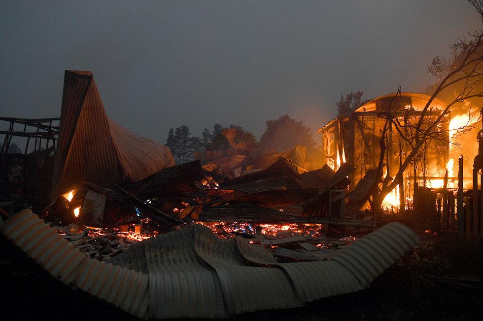 אוסטרליה שריפה שריפות ניו סאות' וויילס אזור סידני (צילום: EPA)