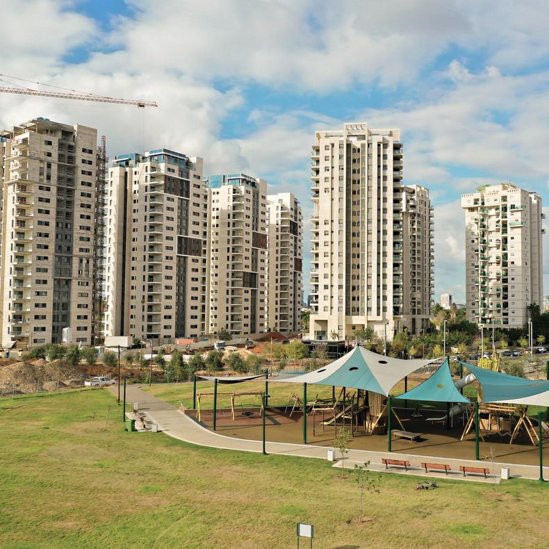 פיתוח משמעותי של דרום העיר. פארק תל אביב, יזם: אלעד מגורים | צילום: אוראל כהן ()