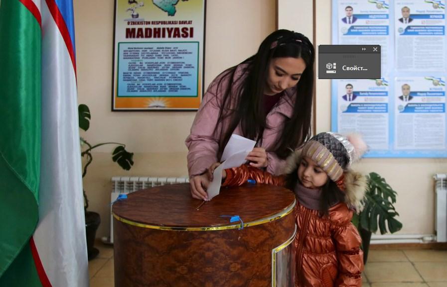 Выборы в Узбекистане. Фото: Макс Лурье