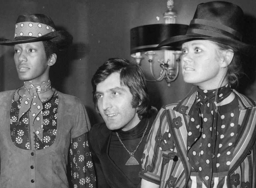 בשנת 1965 פתח אונגרו את בית האופנה הנושא את שמו (צילום: Central Press/GettyimagesIL)