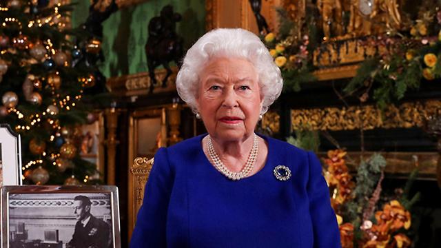 חג המולד בריטניה נאום המלכה אליזבת (צילום: רויטרס)