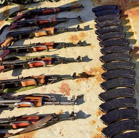 נשק שנתפס על 'קארין איי'