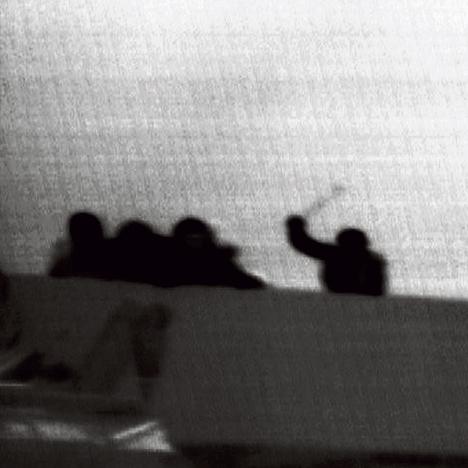 """ההשתלטות על המרמרה   צילום: דובר צה""""ל"""