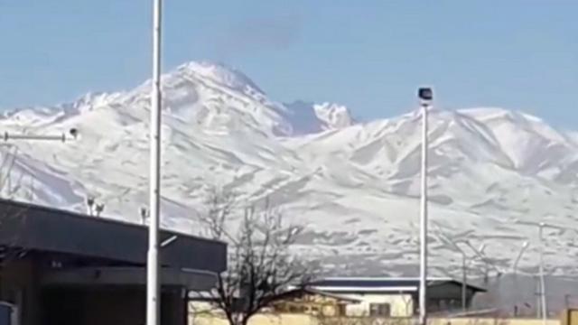 התרסקות מטוס קרב של איראן ב הר סבלאן  ()
