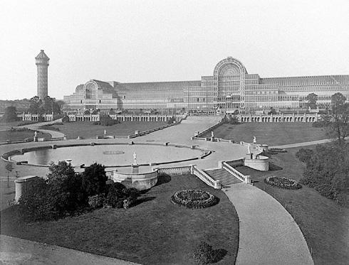 מבט מתוך ההייד פארק (צילום: Philip Henry Delamotte, cc)