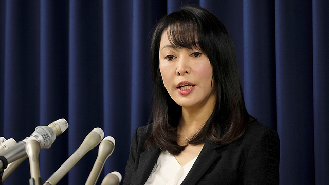 יפן שרת המשפטים מסאקו מורי הוצאה להורג של אסיר (צילום: AFP)