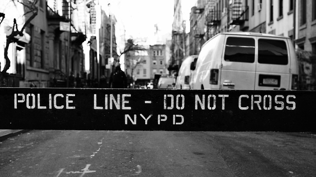 זירת פשע בניו יורק (צילום: shutterstock)