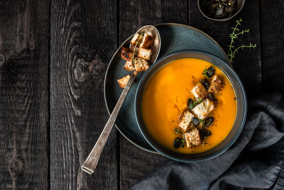 מרק גזר וירקות - עם כל התוספות שאתם אוהבים (צילום: Shutterstock)