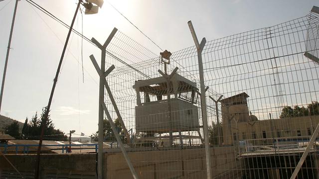 כלא צבאי (צילום: אלעד גרגורן )