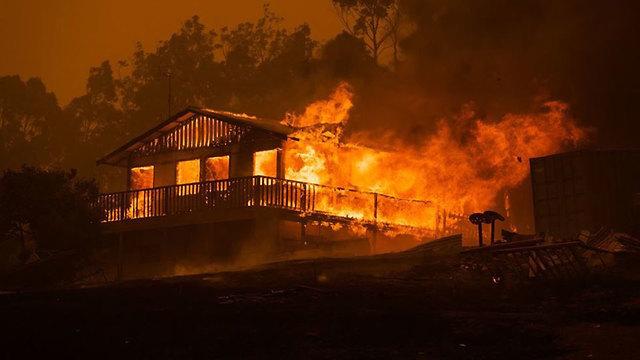 אוסטרליה מוגו שריפה ()