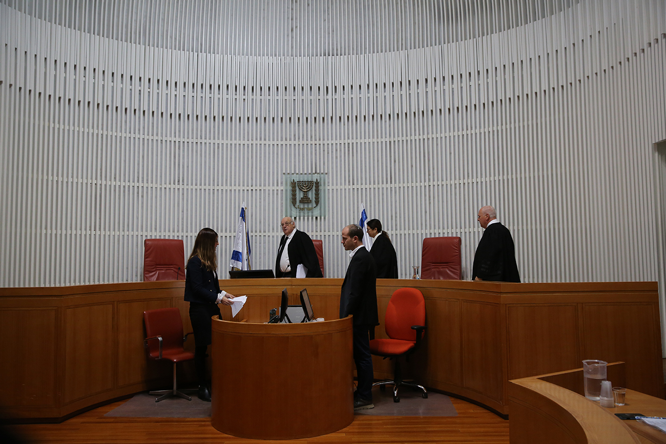 בית המשפט העליון (צילום: אלכס קולומסויקי)