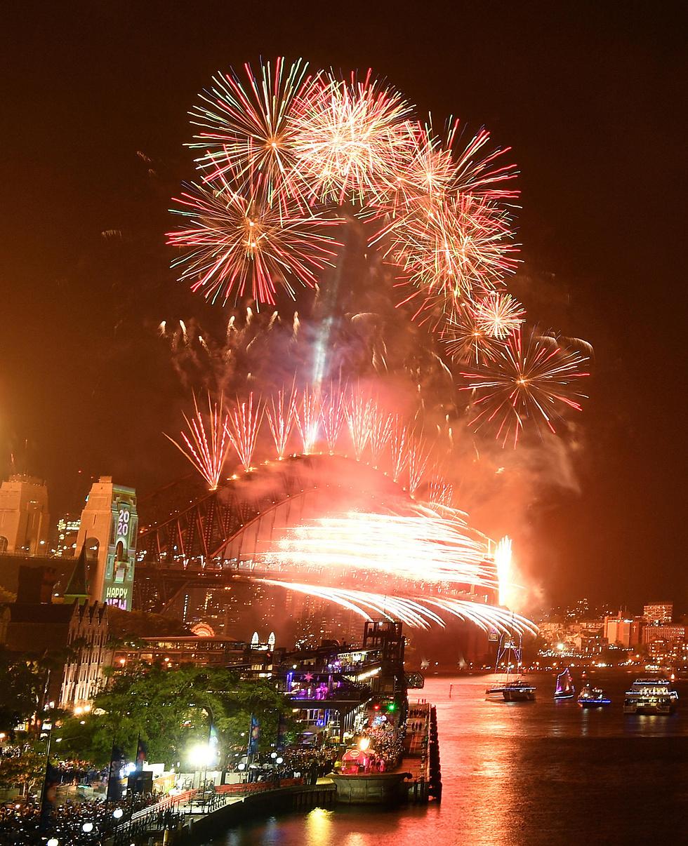 חגיגות שנה חדשה 2020 (צילום: EPA)