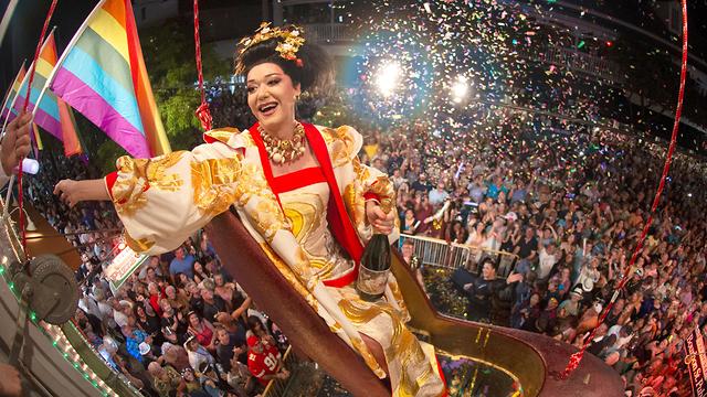 חגיגות השנה החדשה שנה אזרחית חדשה 2020 פלורידה זיקוקים (צילום: רויטרס)