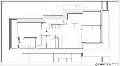 והקומה החפורה (תוכנית: באדיבות אדר' נטלי טל)