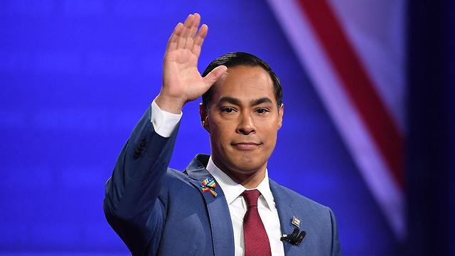 חוליאן קסטרו מתמודד שפרש מהמרוץ במפלגה הדמוקרטית דמוקרטים ארה