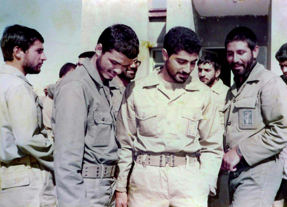 קאסם סולימאני מפקד כוח קודס משנות ה-80 מלחמת איראן עיראק (צילום: MCT)