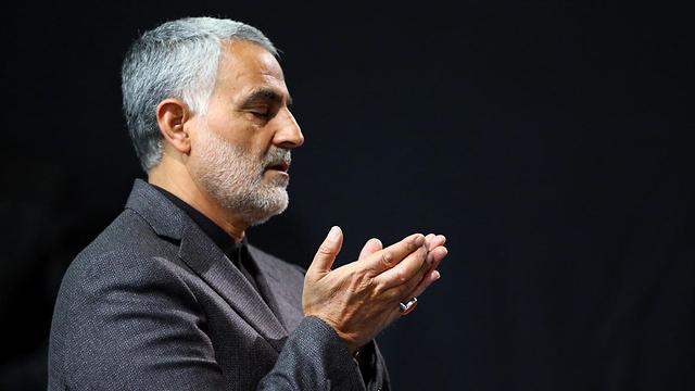 מפקד כוח קודס של איראן קאסם סולימאני (צילום: EPA)