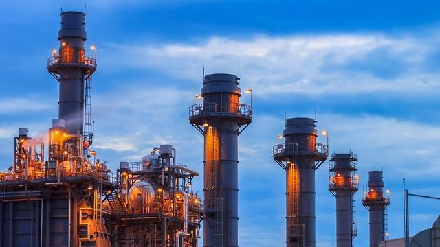 תחנת כוח המונעת בגז טבעי (צילום: shuttersotck)