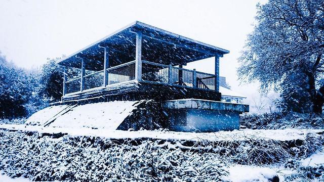 מזג אוויר עין זיוון (צילום: תיירות עין זיוון)