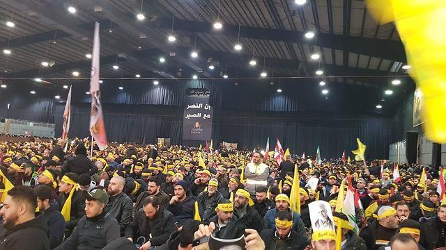 Траурная церемония в Бейруте