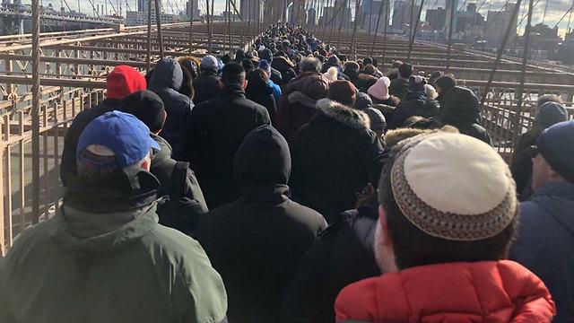 הפגנה ניו יורק ()