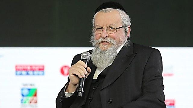 הרב אלימלך פירר (צילום: אלכס קולומויסקי)