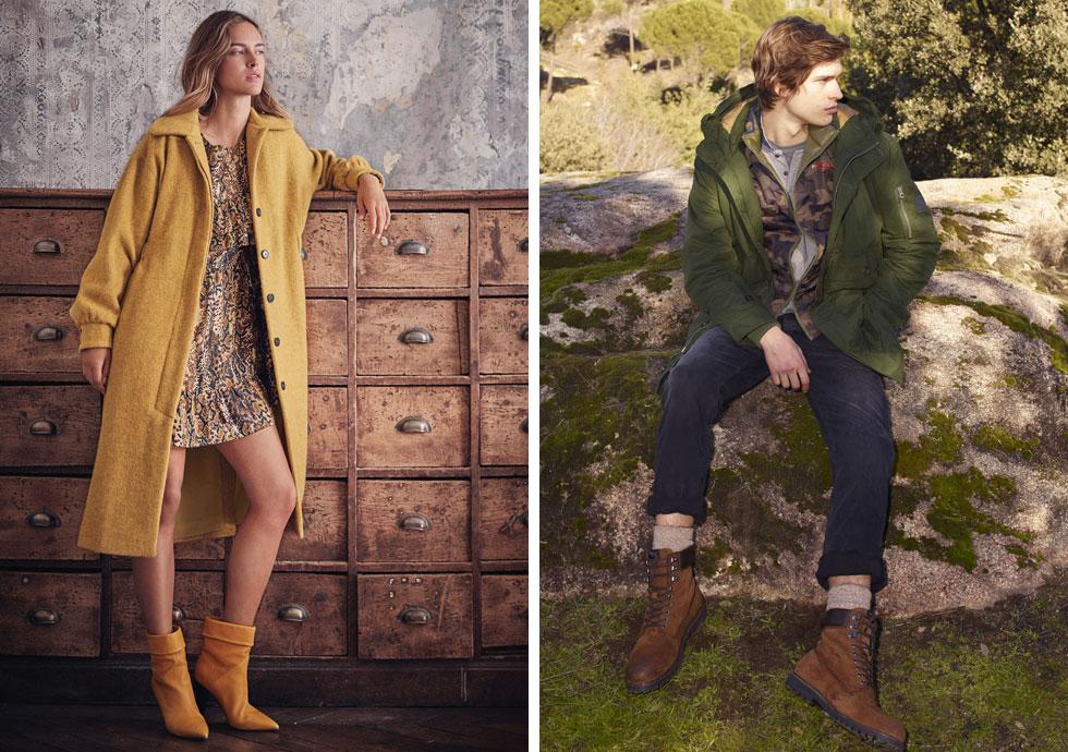 מכירות סוף העונה הן זמן מצוין לחפש מעיל חדש. פפה ג'ינס (מימין) ו-ba&sh