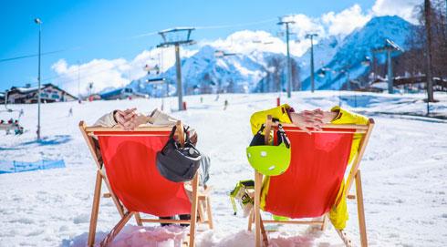 מנוחת הגולשים  (צילום: Shutterstock)