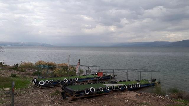 מזג אוויר כינרת כנרת עליה ב מפלס  (צילום: שמיר אלבז)