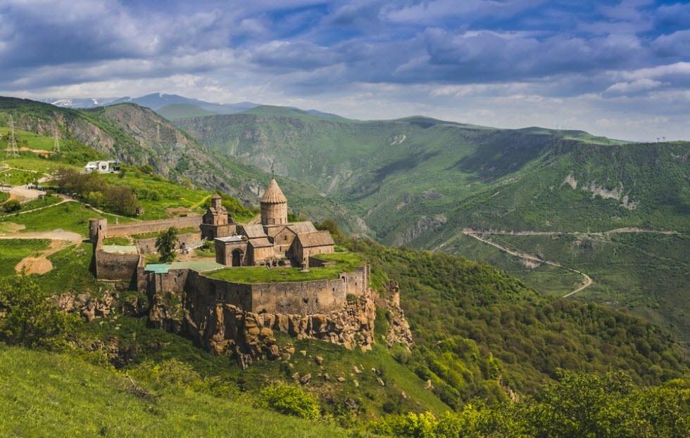 נופים אדירים בארמניה.  (צילום: shutterstock)