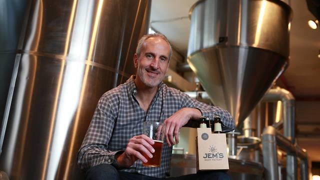 דניאל אלון מבשלת בירה ג'מס james תחרות עסקים קטנים 12 (צילום: אביגיל עוזי)