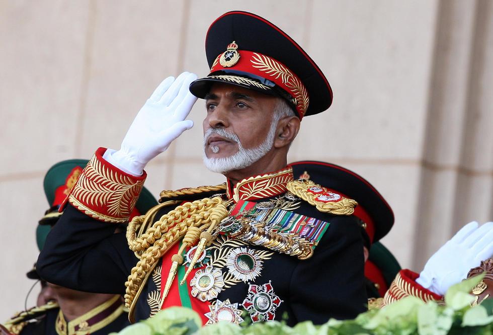 סולטן עומאן קאבוס בן סעיד מת (צילום: AFP)