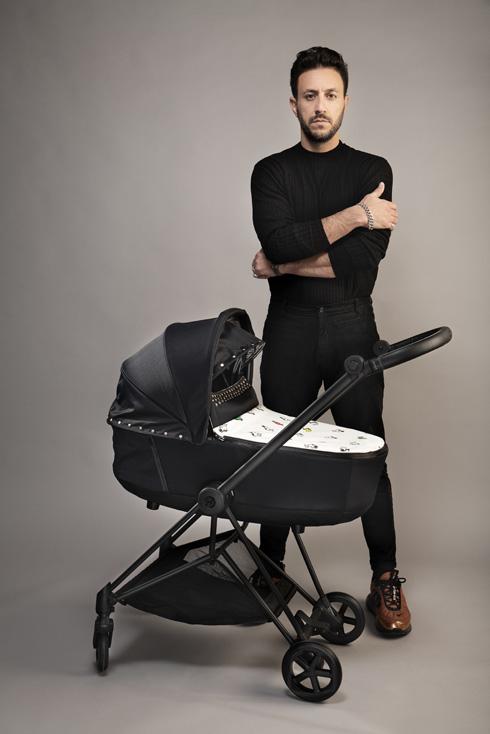 המעצב מעוז דהאן ממותג האופנה נובוריש דוג (צילום: שי יחזקאל)