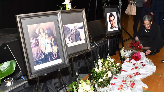 ראש ממשלת קנדה ג'סטין טרודו בטקס לזכר הנספים בהתרסקות המטוס האוקראיני (צילום: AFP)