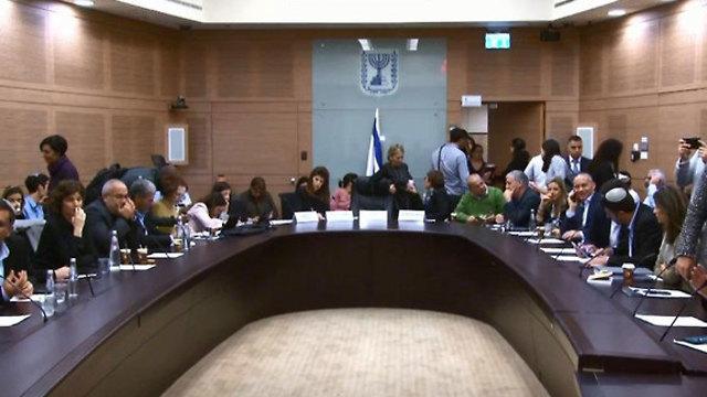 ועדה מסדרת בחירות כנסת (צילום: אלכס גמבורג)