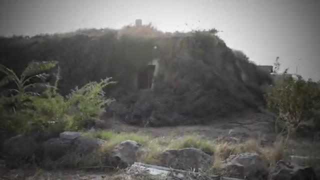 הבית שלא רואים בצילומי האוויר (צילום: ניצן דרור)