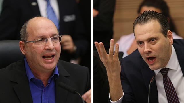 מיקי זוהר ואבי ניסנקורן (צילום: אלכס קולומויסקי)