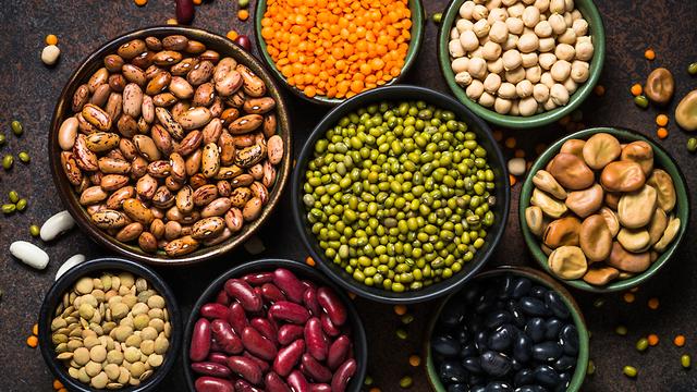 תמונה של מספר סוגים מקבוצת הקטניות (צילום: Shutterstock)
