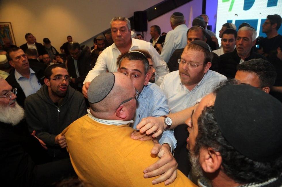 הבית היהודי אישר את ההתמודדות המשותפת עם בן גביר (צילום: יריב כץ)