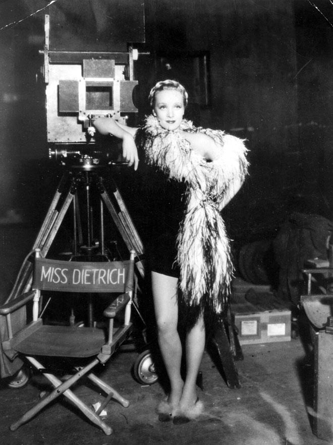 דיטריך על הסט, 1935 (צילום: GettyimagesIL)