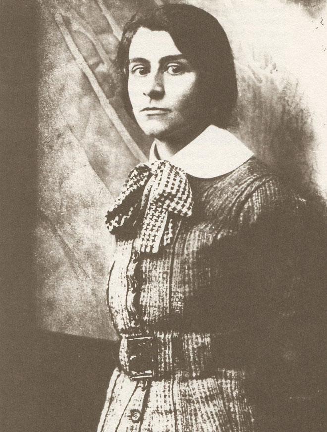 """אלזה לסקר-שילר, 1907. """"מה לעשות לך באשכנז?"""" (צילום: מתוך wikimedia.org, cc)"""